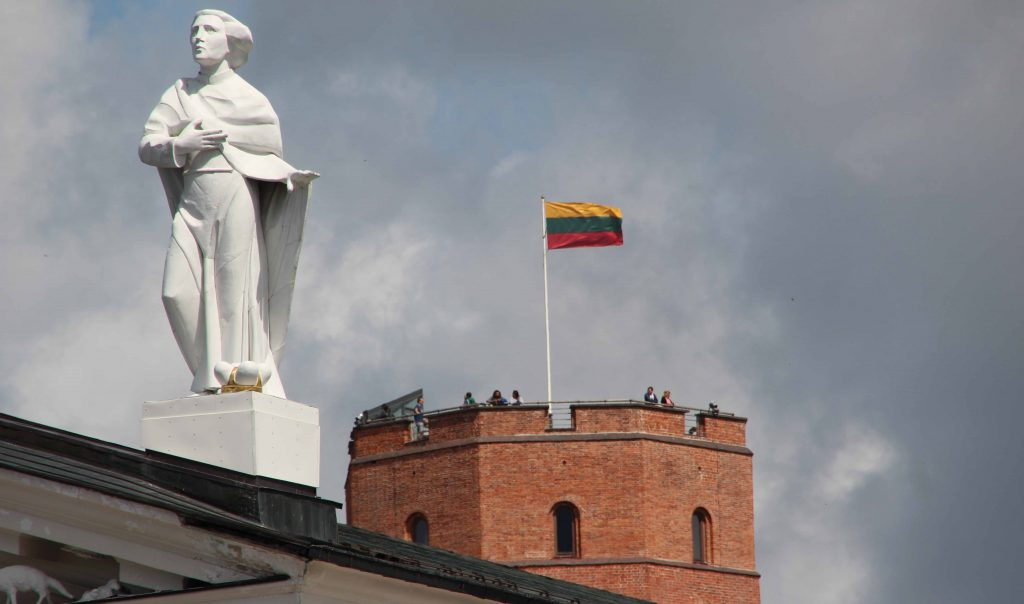 Visit Vilnius in February during the independence day