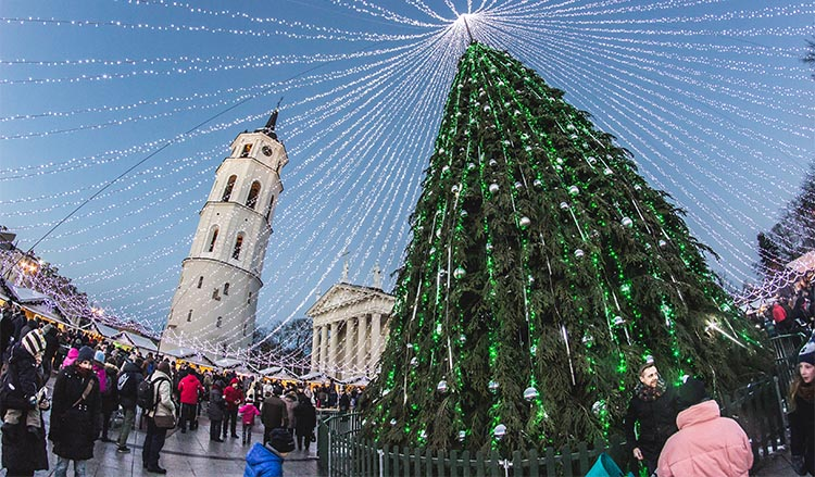 Visiting Vilnius in December