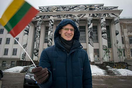 100 years of Lithuania independence, part of the itinerary of the tour