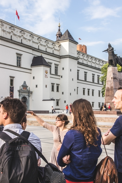 Cathedral square, Vilnius Free Historical Tour
