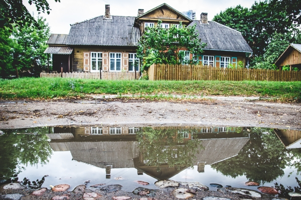 The village in the city center will be seen during Vilnius Alternative Tour.