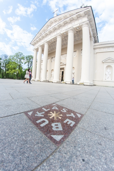 Cathedral of Vilnius one of the highlights of Vilnius free walking tours