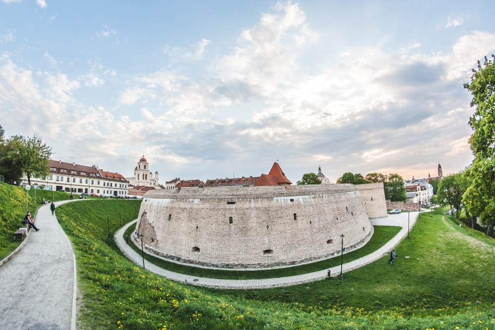 Additional fortification close to reconstructed part of Vilnius city wall. During Vinius Free Old Town tour it will be shown!