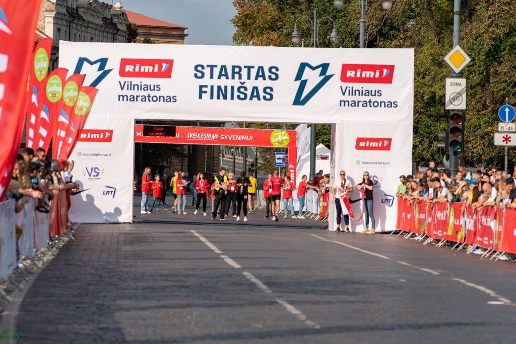 Vilnius marathon the biggest Vilnius running event of the year