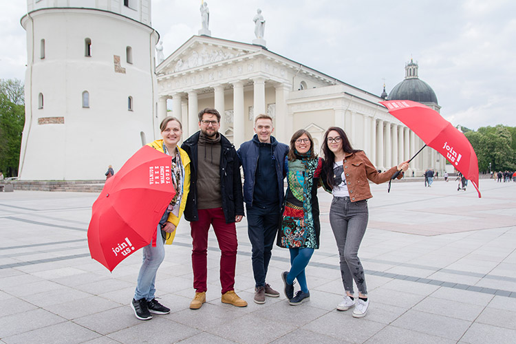 Vilnius Free Walking Tours tour guides