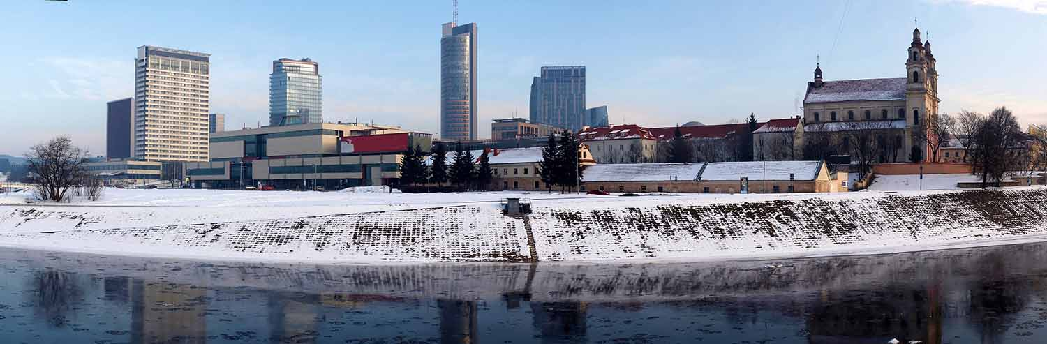 Undiscovered vilnius free walking tour in winter